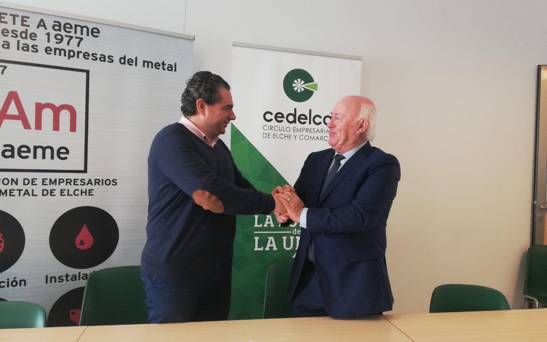 Cedelco suma a los empresarios del metal de Elche en su red de colaboradores