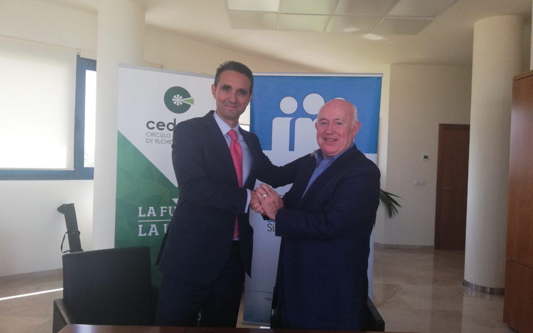 Cajamar y Cedelco colaborarán para potenciar el tejido empresarial de Elche y su comarca