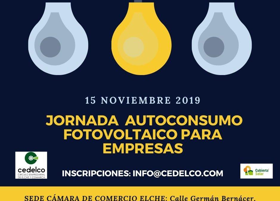 Jornada en Cedelco sobre el Autoconsumo Fotovoltaico