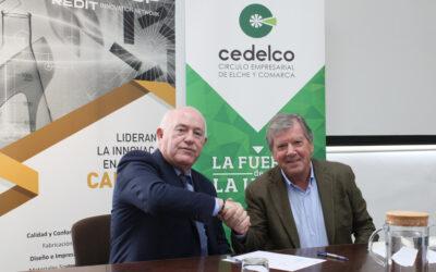 INESCOP y CEDELCO firman un convenio de colaboración para apoyar el tejido empresarial de Elche y Comarca