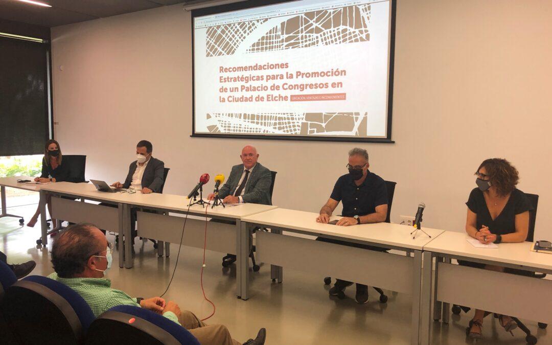 Cedelco presenta el estudio sobre el Palacio de Congresos de Elche