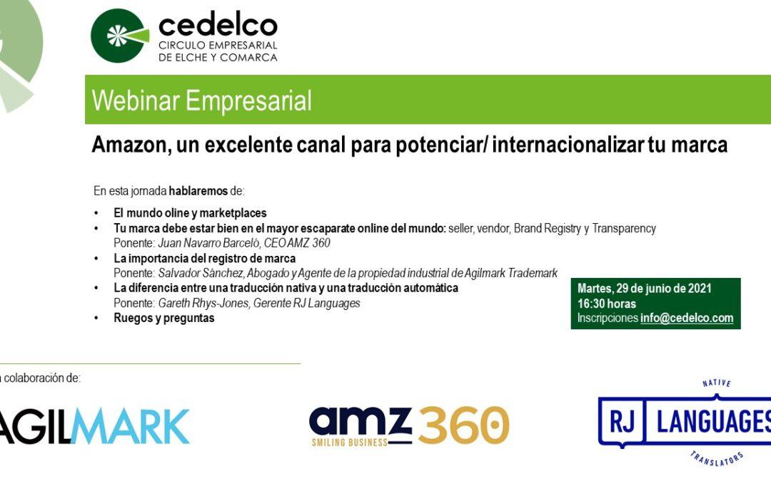 Cedelco celebra webinar sobre Amazon