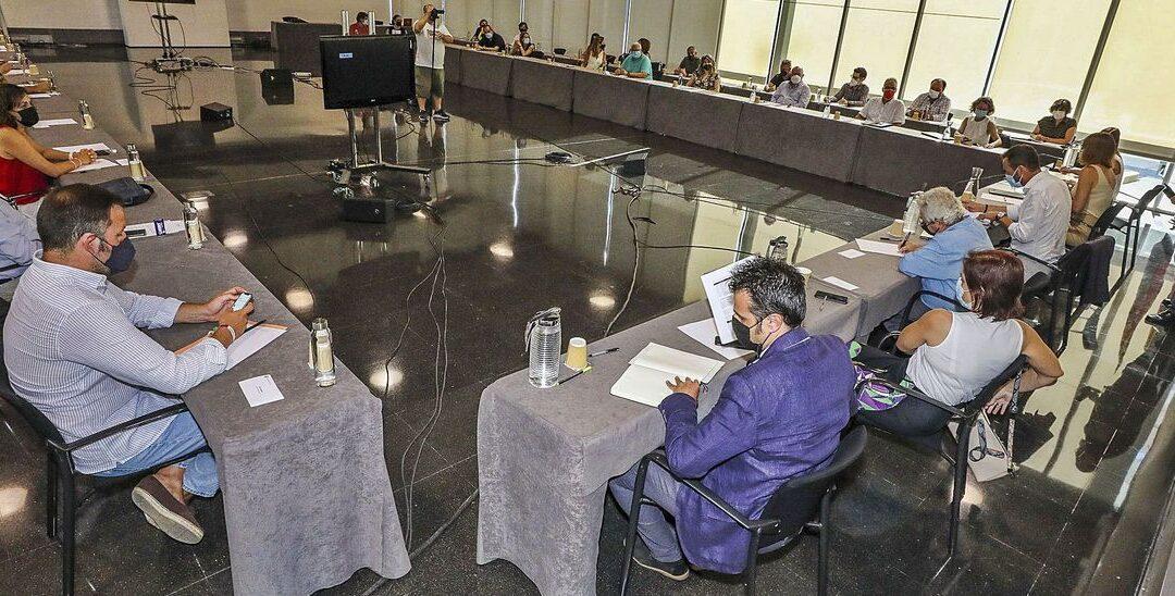 Presentación estudio Palacio de Congresos en el Consejo Social