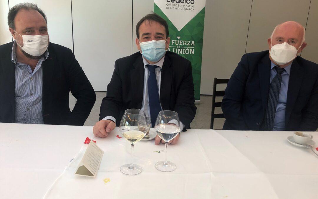 Reunión trabajo con Manuel Illueca